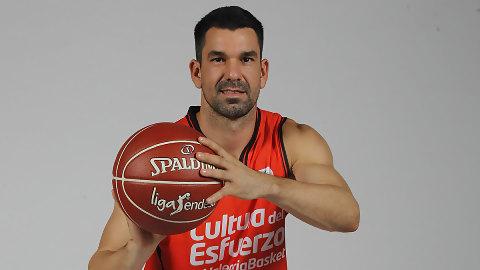 Rafa Martínez, segundo anotador del Valencia Basket en Liga Endesa