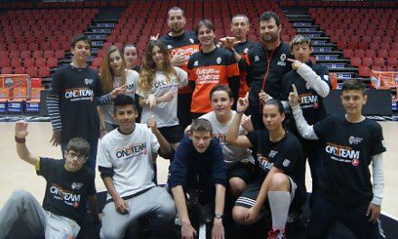 Valencia Basket arranca su quinto proyecto de One Team junto a Cáritas