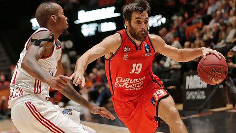 Valencia Basket se rehace y gana en Jerusalén (84-86)