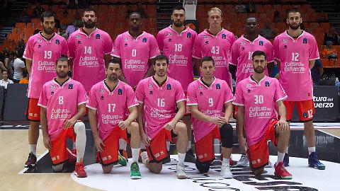 Valencia Basket recauda más de 1.000 euros por las camisetas rosas