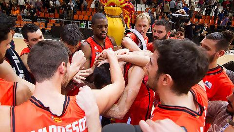 A la venta las entradas para el Valencia BC-Baskonia
