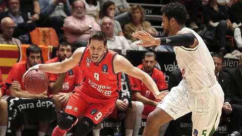 Un Valencia Basket solvente hunde al Olimpia Liubliana (87-74)
