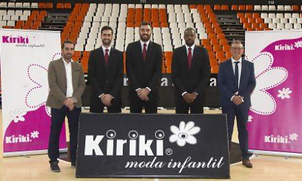 Kiriki, nuevo proveedor oficial de trajes del Valencia Basket