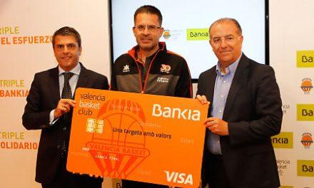 Valencia BC y Bankia renuevan el programa social «Més que un triple»