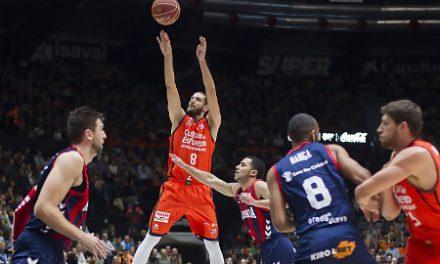 Valencia Basket y Antoine Diot tumban al Baskonia (99-91)