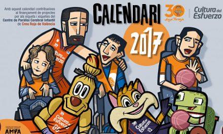 El Calendario Solidario 2017 del Valencia Basket ya tiene portada