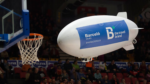 B the travel brand animará el Valencia Basket – Real Betis Energía Plus