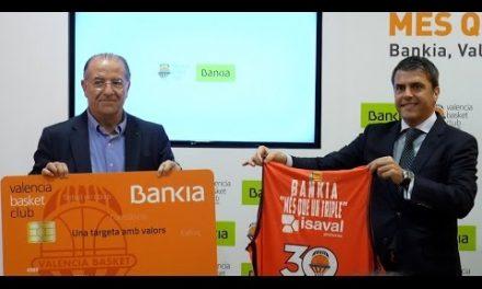Presentación del acuerdo Valencia Basket – Bankia