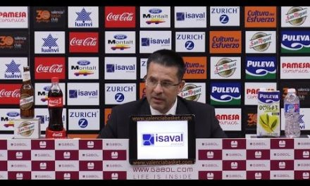 Pedro Martínez post J8 Liga Endesa vs Baskonia
