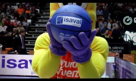 Pinturas Isaval en J8 Liga Endesa vs Baskonia