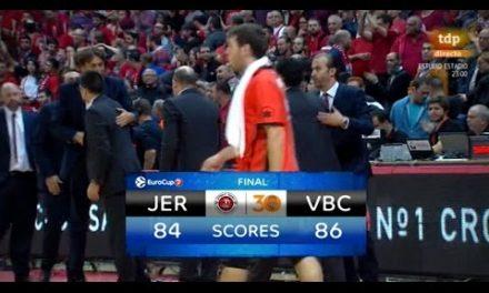 Resumen J7 7DAYS Eurocup: Hapoel Bank Yahav Jerusalén 84 – Valencia Basket 86