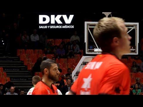 DKV Seguros en J4 Eurocup vs Olimpija Ljubljana