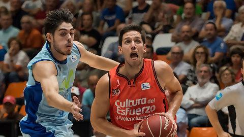 A la venta entradas para Valencia Basket ante Alba Berlín y Movistar Estu
