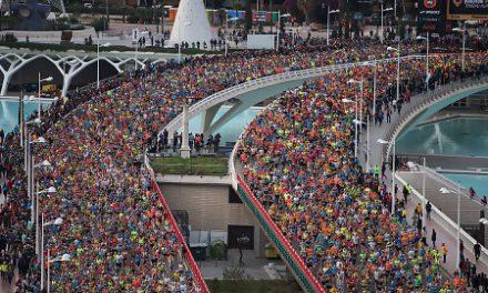 Reconocimiento a los participantes en el Maratón Valencia Trinidad Alfonso