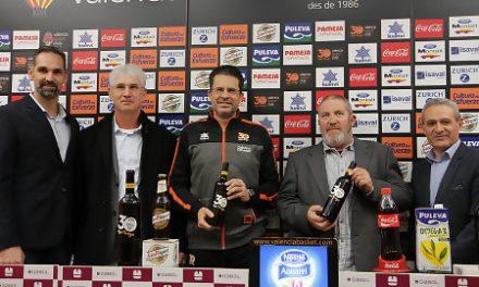 Valencia BC y Bodegas el Villar presentan el vino del 30 aniversario taronja
