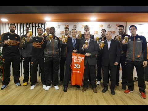 Cervezas San Miguel renueva su patrocinio con Valencia Basket