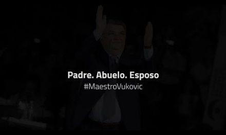 #MaestroVukovic – Padre. Abuelo. Esposo