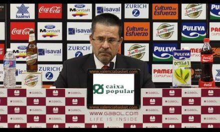 Pedro Martínez post J15 Liga Endesa vs ICL Manresa