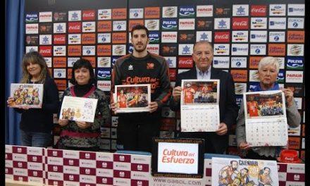Presentación Calendario Solidario Valencia Basket y CPCI Cruz Roja