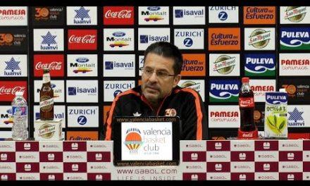 Pedro Martínez pre J11 Liga Endesa vs RETAbet Bilbao Basket
