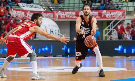 Valencia Basket, con un gran Dubljevic, gana con muchos apuros en Murcia