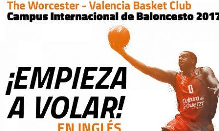 Valencia Basket y University of Worcester lanzan la 2ª edición de su Campus
