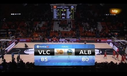Resumen J2 Top 16 7DAYS Eurocup: VBC 85 – ALBA Berlín 80
