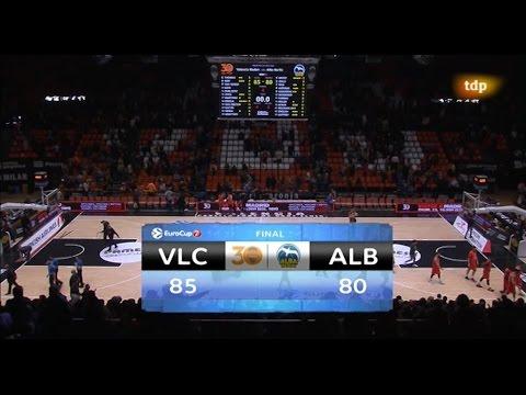 Resumen J2 Top 16 7DAYS Eurocup: VBC 85 – ALBA Berlín 80