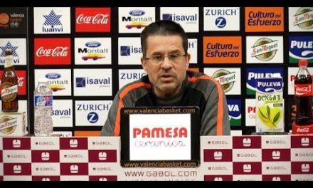 Pedro Martínez pre J17 Liga Endesa vs Movistar Estudiantes