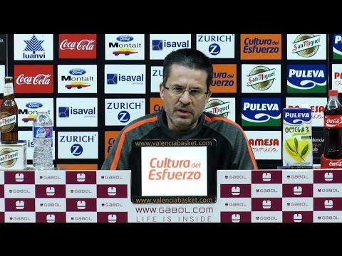 Pedro Martínez pre J18 Liga Endesa en Real Madrid