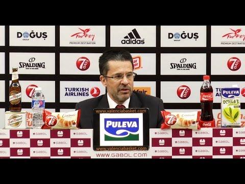 Pedro Martínez post J4 Top 16 7DAYS Eurocup vs Unicaja