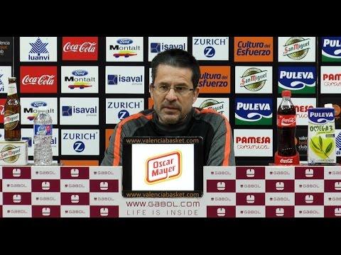 Pedro Martínez pre J19 Liga Endesa vs Herbalife Gran Canaria