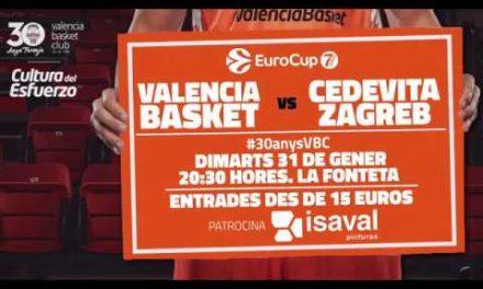 Promo Valencia Basket – Cedevita Zagreb