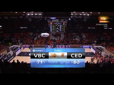 Resumen J5 Top 16 7DAYS Eurocup: VBC 71 – Cedevita Zagreb 58