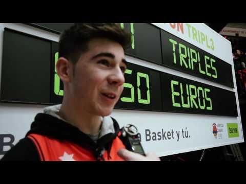 Primer Triple Solidario Valencia Basket y Bankia 16-17 vs RETAbet Bilbao