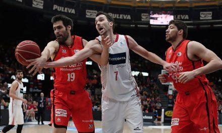 El rodillo de Valencia Basket aplasta y frustra a Tecnyconta Zaragoza