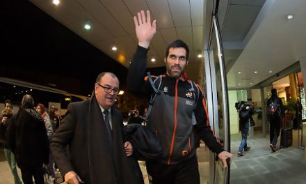 Fernando San Emeterio: «Nos conocemos muy bien, preveo un partido igualado»