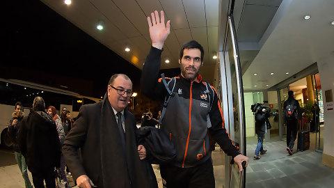 """Fernando San Emeterio: """"Nos conocemos muy bien, preveo un partido igualado"""""""