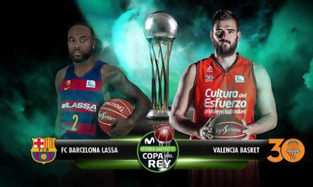 FC Barcelona Lassa – Valencia Basket: Ganas de final