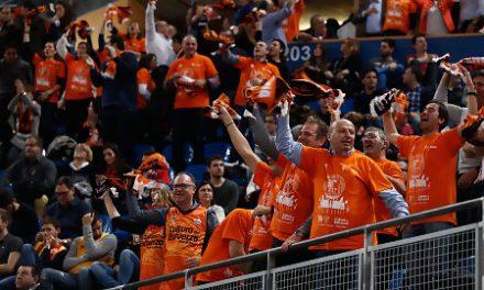 Valencia Basket agradece a la afición el apoyo durante la Copa del Rey