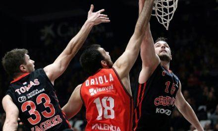 Pierre Oriola en J5 Top 16 7DAYS Eurocup vs Cedevita Zagreb