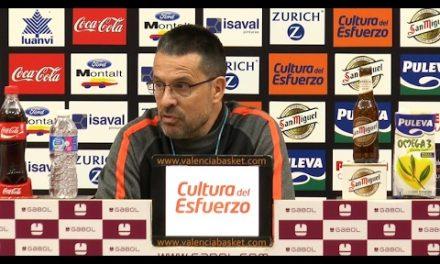 Pedro Martínez pre 1/4 de final Copa del Rey vs Herbalife Gran Canaria