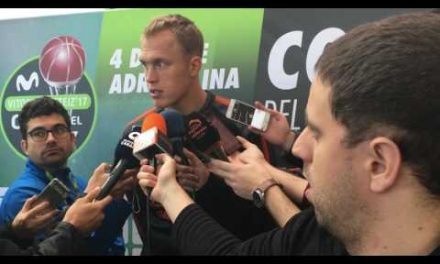 Luke Sikma viernes Copa del Rey 2017