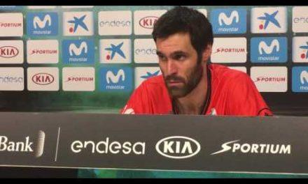 Fernando San Emeterio post semifinales Copa del Rey 2017
