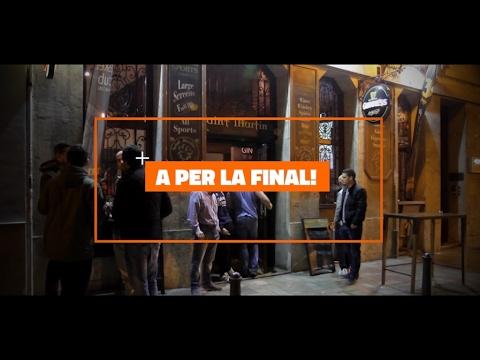 Vive la Final de la #CopaTaronja17 en el Saint Martin's