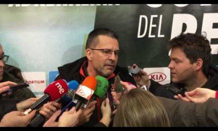 Pedro Martínez domingo pre final Copa del Rey 2017