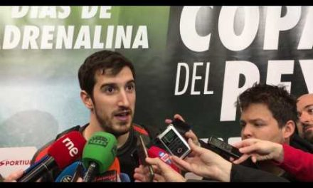 Guillem Vives domingo pre final Copa del Rey 2017