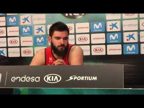 Bojan Dubljevic post final Copa del Rey