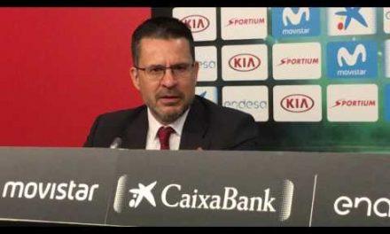 Pedro Martínez post final Copa del Rey