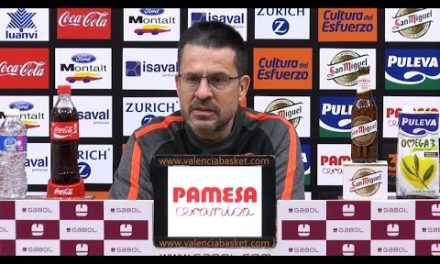 Pedro Martínez pre J22 Liga Endesa vs Divina Seguros Joventut